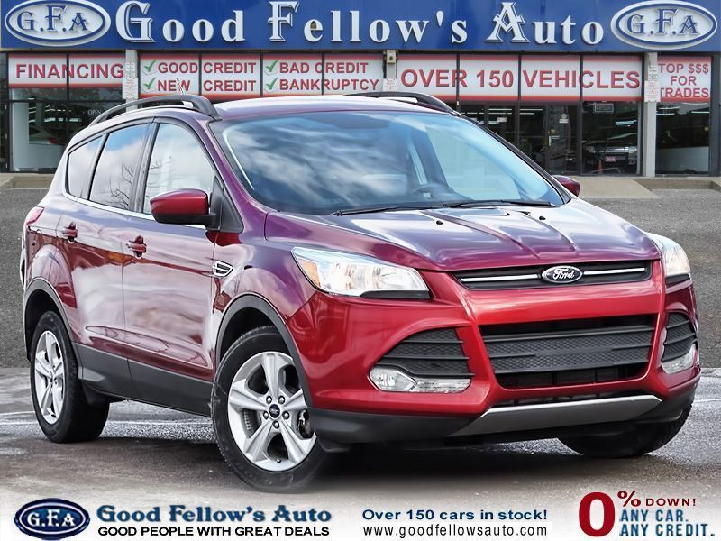 Spice Up Your Life With This Fiery Red 2016 Ford Escape Or Come