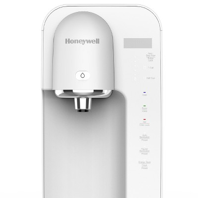 Honeywell Hot Cold Room Temperature Water Purifier White Countertop Water Dispenser Water Dispenser Design Dispenser Design