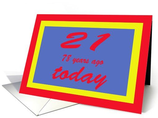 Happy Birthday Ninety Nine 99th Greeting Card