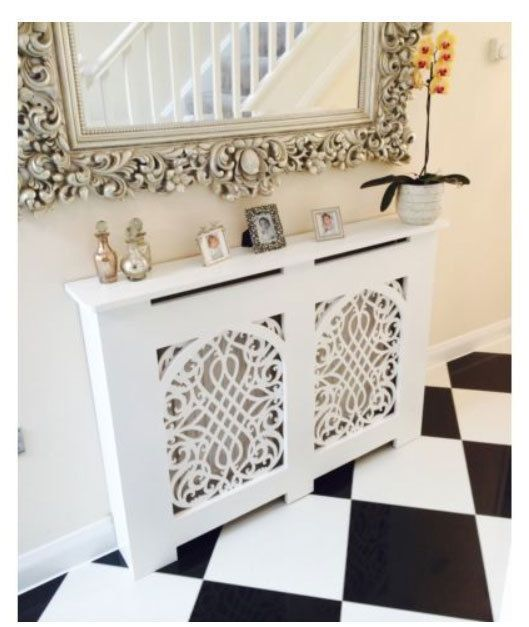 Radiator Cabinet/Cover  GOTHIC Or FRENCH/SHABBY CHIC  Made In The UK!  Handmade FurnitureHome ...