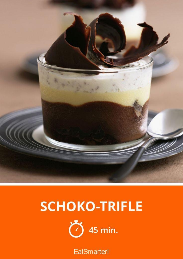 schoko trifle rezept rezepte pinterest dessert. Black Bedroom Furniture Sets. Home Design Ideas
