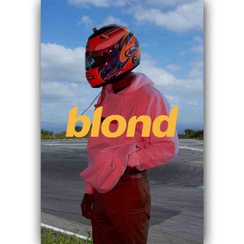 Frank Ocean Blond New Silk Poster Custom Wall Decor