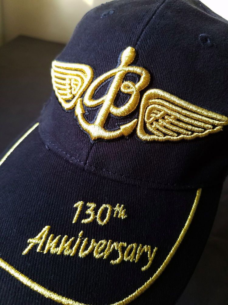 eeebaad514a Breitling Watch 130th Anniversary Hat Promo Black Gold Adjustable Baseball  Cap  Breitling  BaseballCap