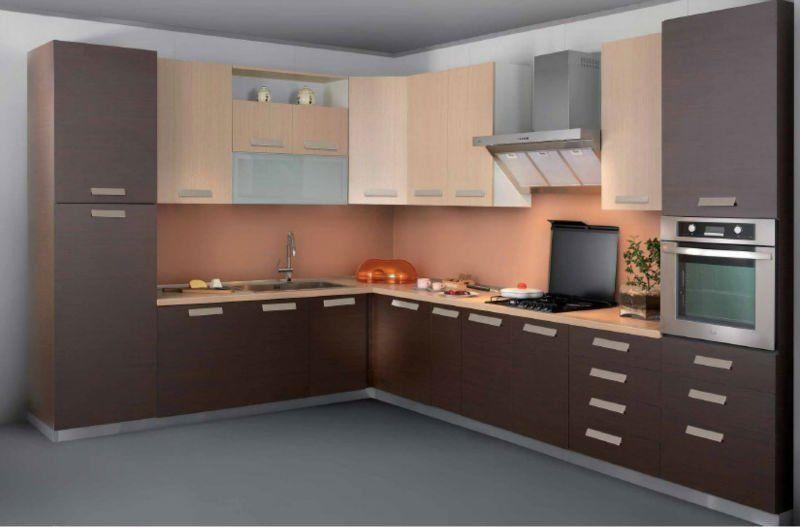 Diseños de muebles de cocinas de melamina modernos-10 | MUEBLES ...