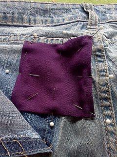 How to Mend a Tear Around a Pocket