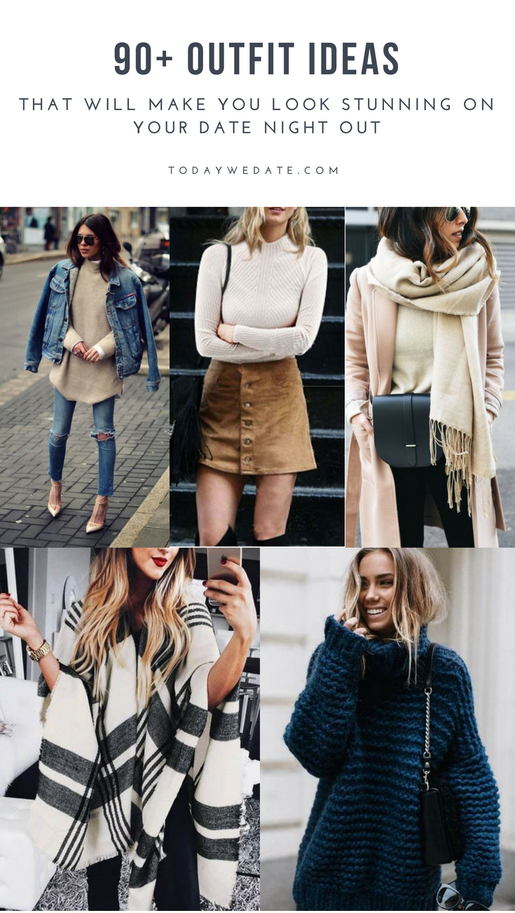 90 Date Night Outfit Ideas For Every Twenty Something Date Night Outfit Night Outfits Casual Fall Outfits [ 1302 x 735 Pixel ]