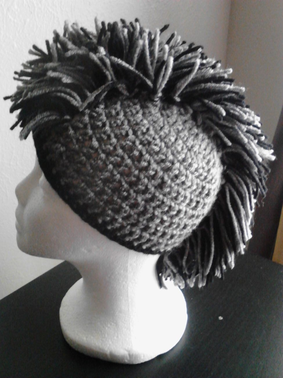Kids Crochet Mohawk Hat All knitting u crochet women clothes