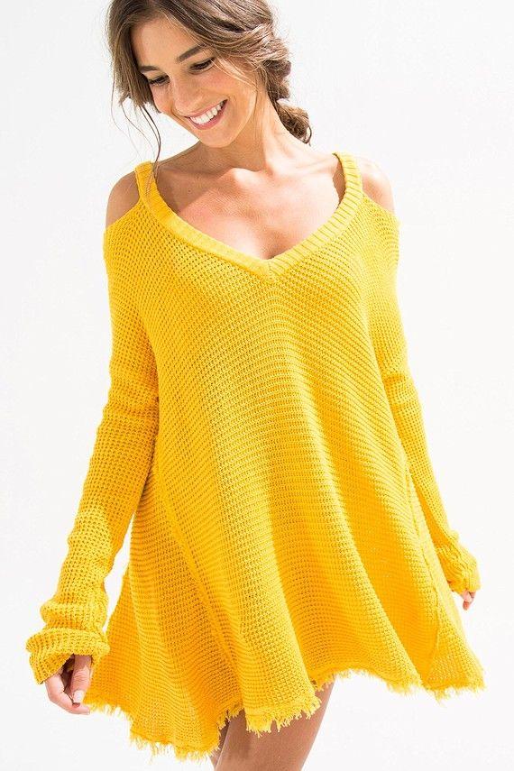 253162c14 blusa tricot ombro vazado | FARM | Moda em 2019 | Blusa tricot ...