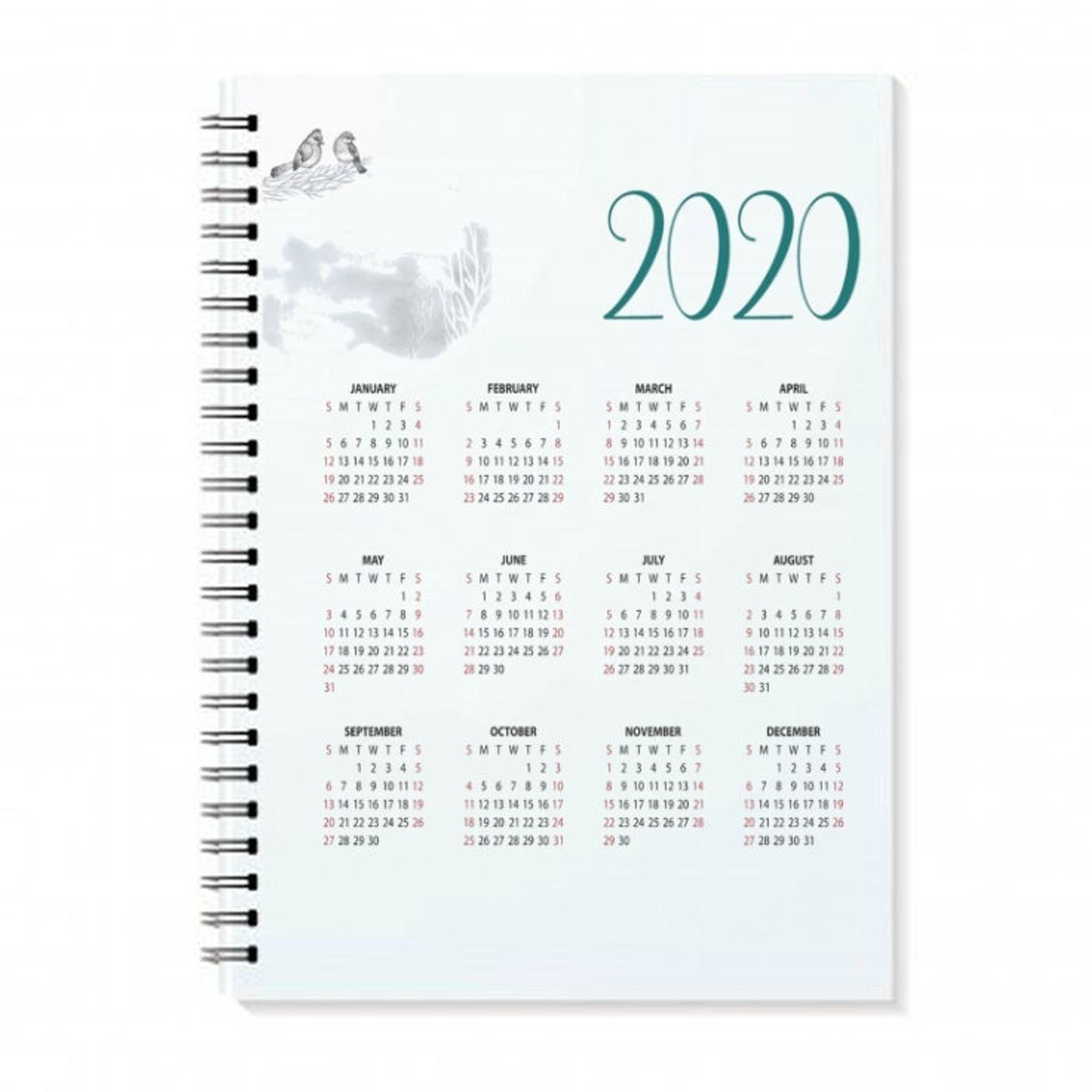 Happy Planner 2020 Calendar printable calendar happy