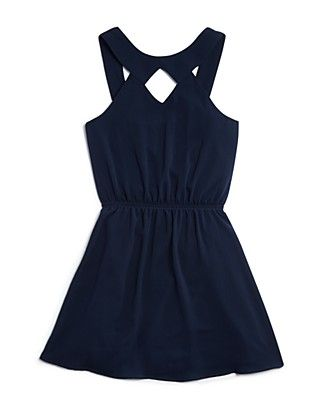 Sally Miller Girls' Cutout Flared Dress - Sizes S-XL | Bloomingdale's #sallymiller