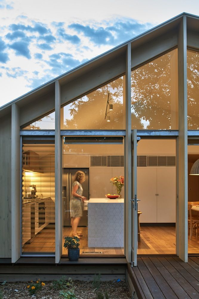 Lean To House Warc Studio Melbourne House House Roof Australian Homes