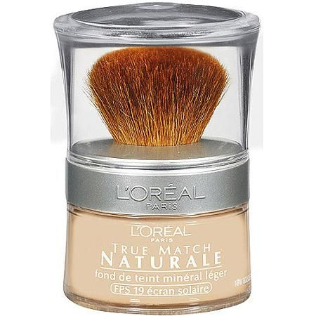 L Oreal Paris True Match Loose Powder Mineral Foundation Makeup Buff Beige 0 35 Oz Walmart Com Drugstore Powder Foundation Best Foundation For Oily Skin Mineral Foundation