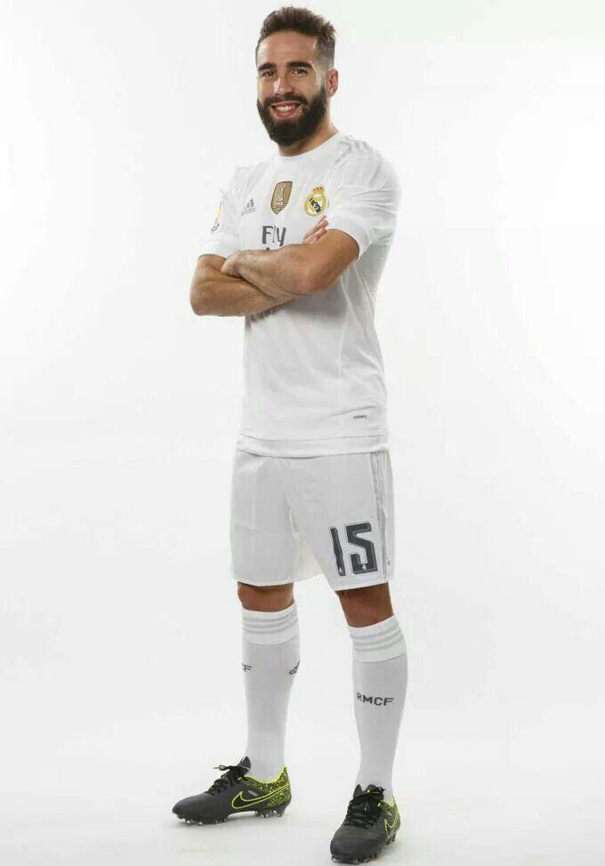bf3cfad09 FELIZ CUMPLE HAPPY BIRTHDAY Dani Carvajal 110116!!! Real MadridSoccerHappy  ... ... men 2017 2018 club real madrid away long sleeve aaa version 16  soccer ...