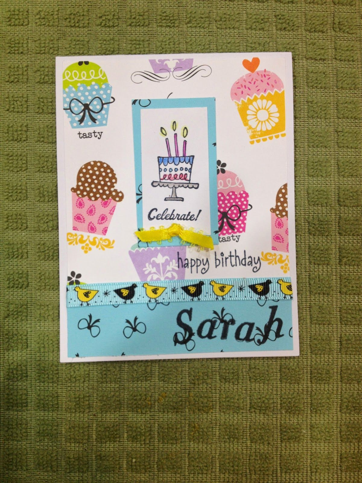 Cute Little Birthday Card For A Special 14 Year Old Girl Love The Way It Turned Out I Have To Make Another