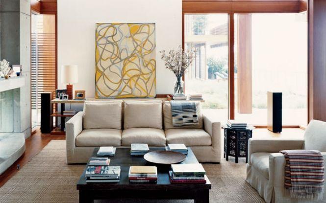 Interior Feng Shui living room decoration