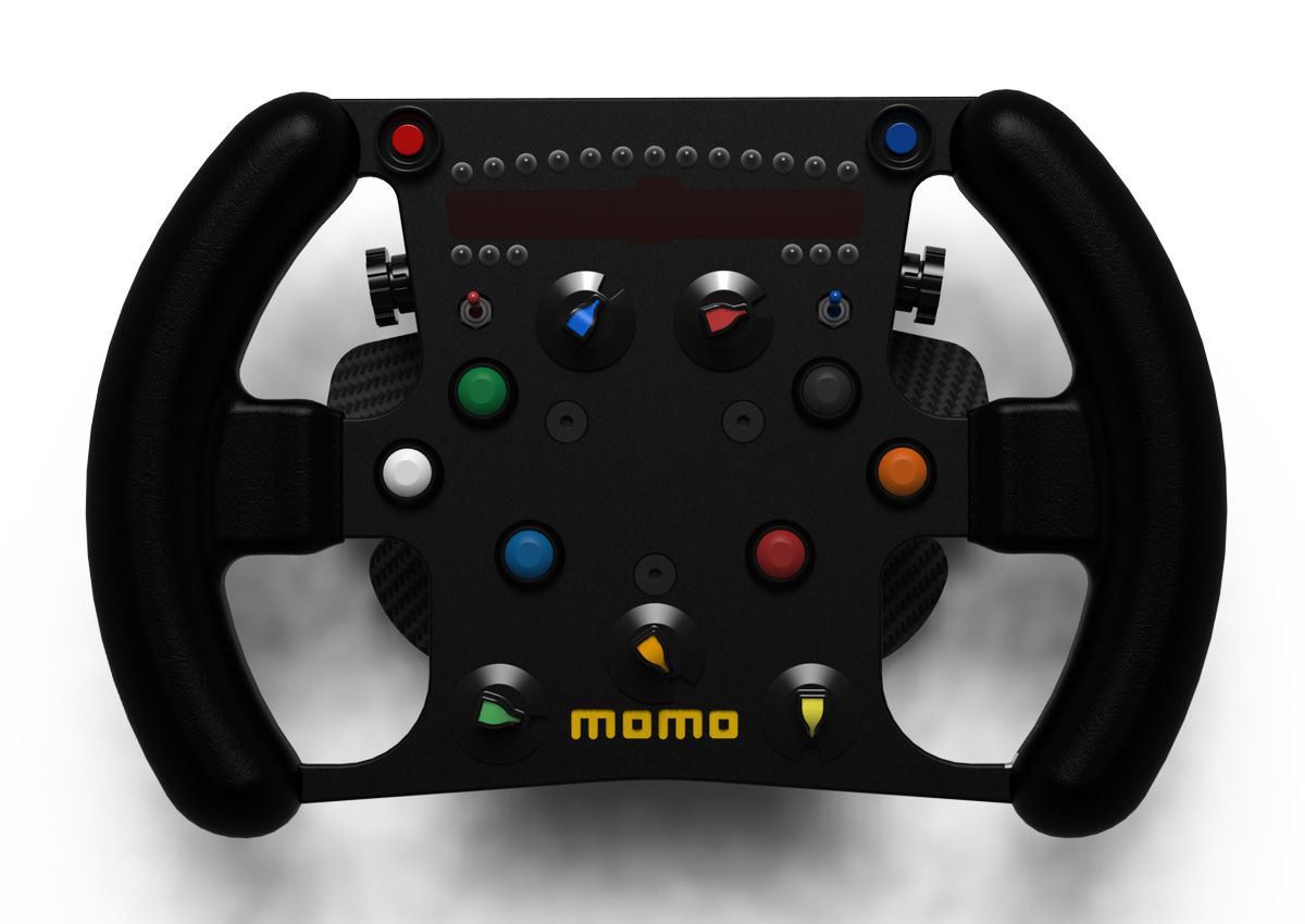 High-End GP2 Steering Wheel - Renders | VirtualR - Sim
