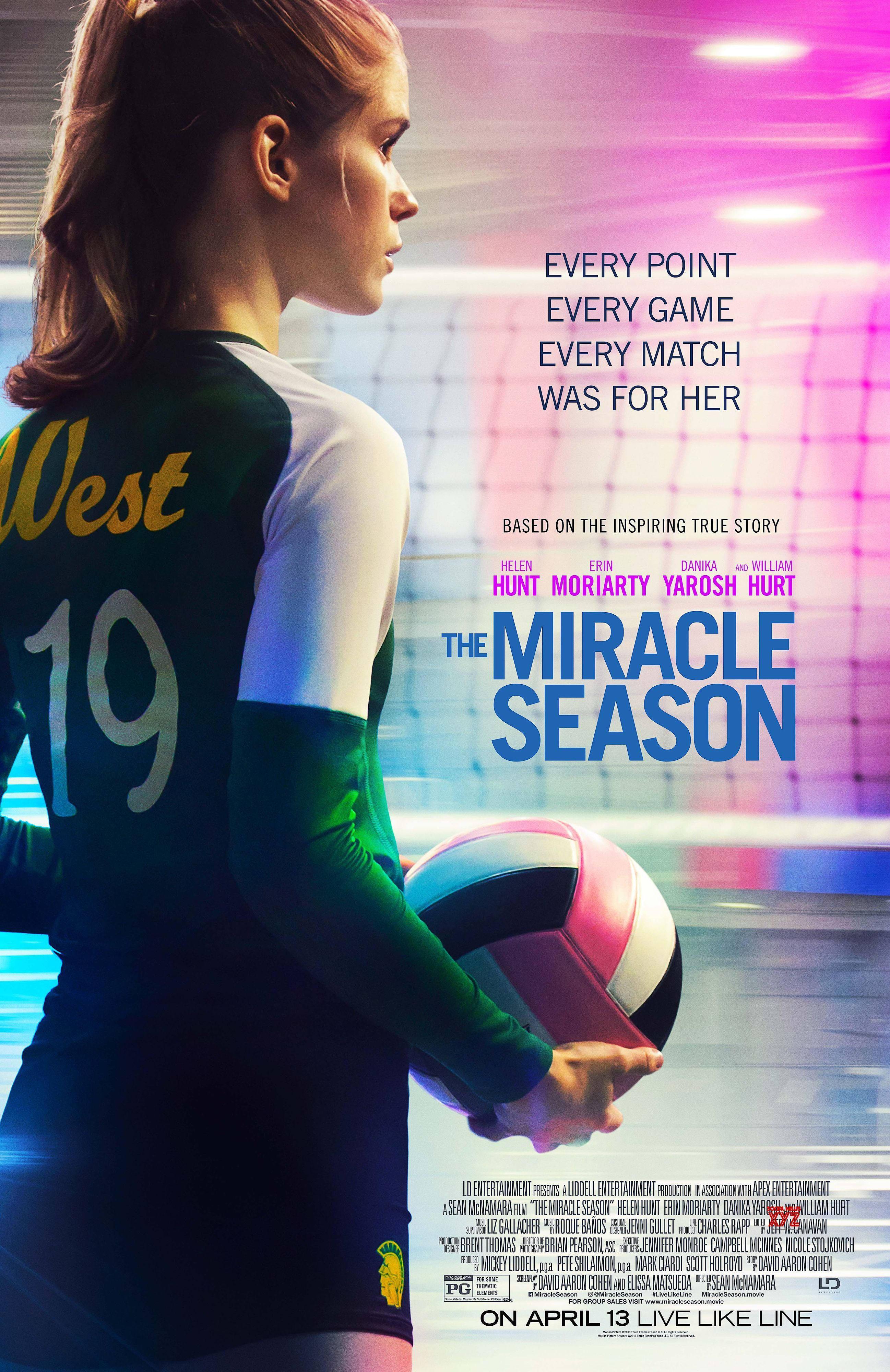 The Miracle Season Movie Poster The Miracle Season Free Movies