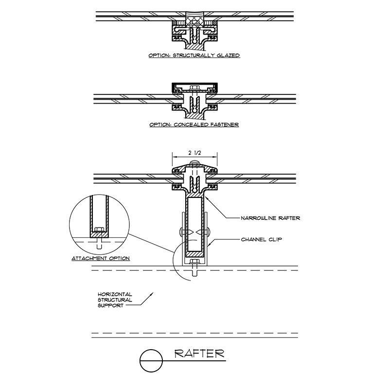 Narrowline Canopy System