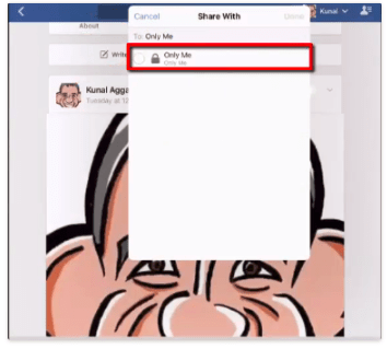 How to Set a Temporary Profile Picture on Facebook