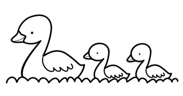 Patitos Amarillos Dibujo Para Colorear E Imprimir Dibujos Para Colorear Pato Para Colorear Pato Para Pintar