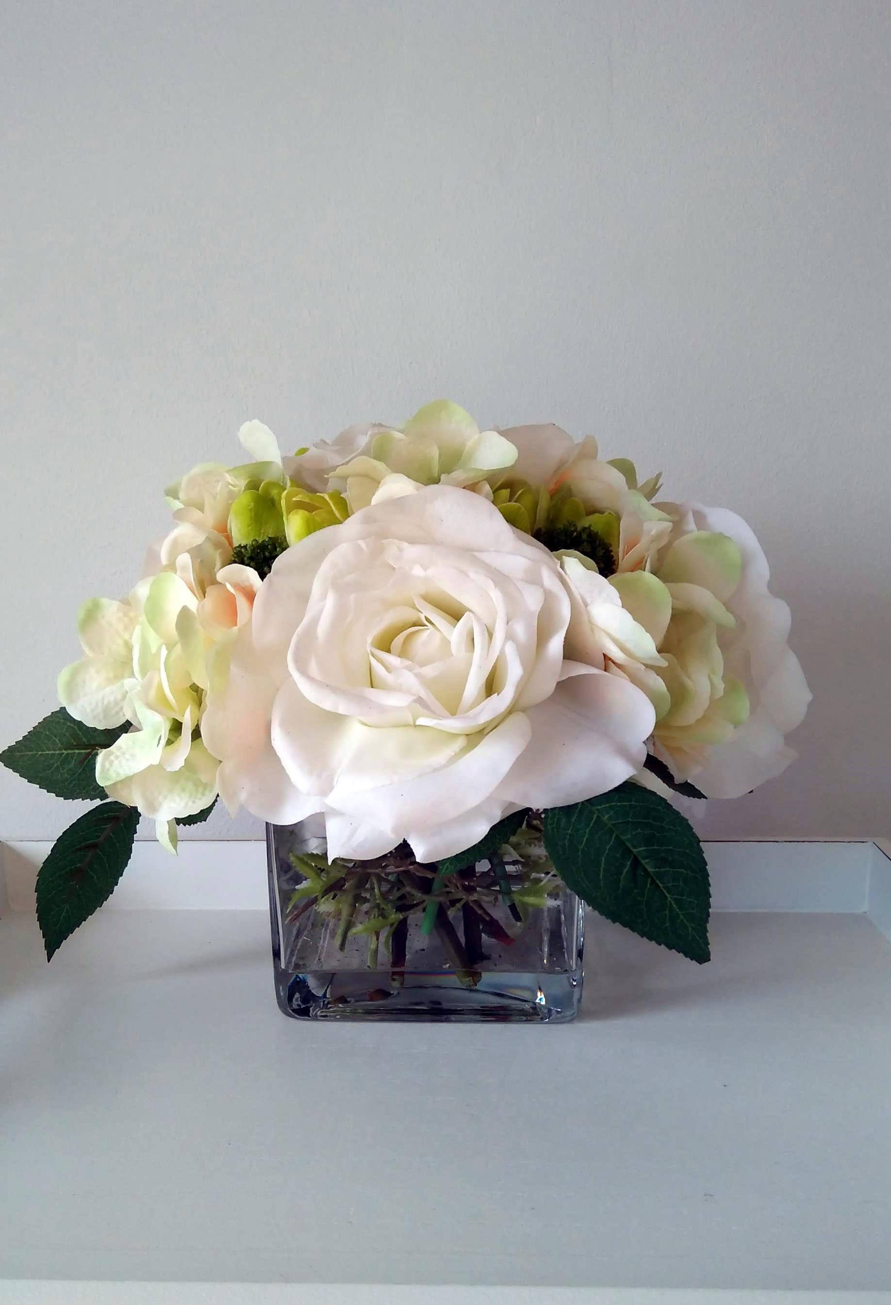 Extra Large Artificial Flowers Centrepiece Real Touch Flowers