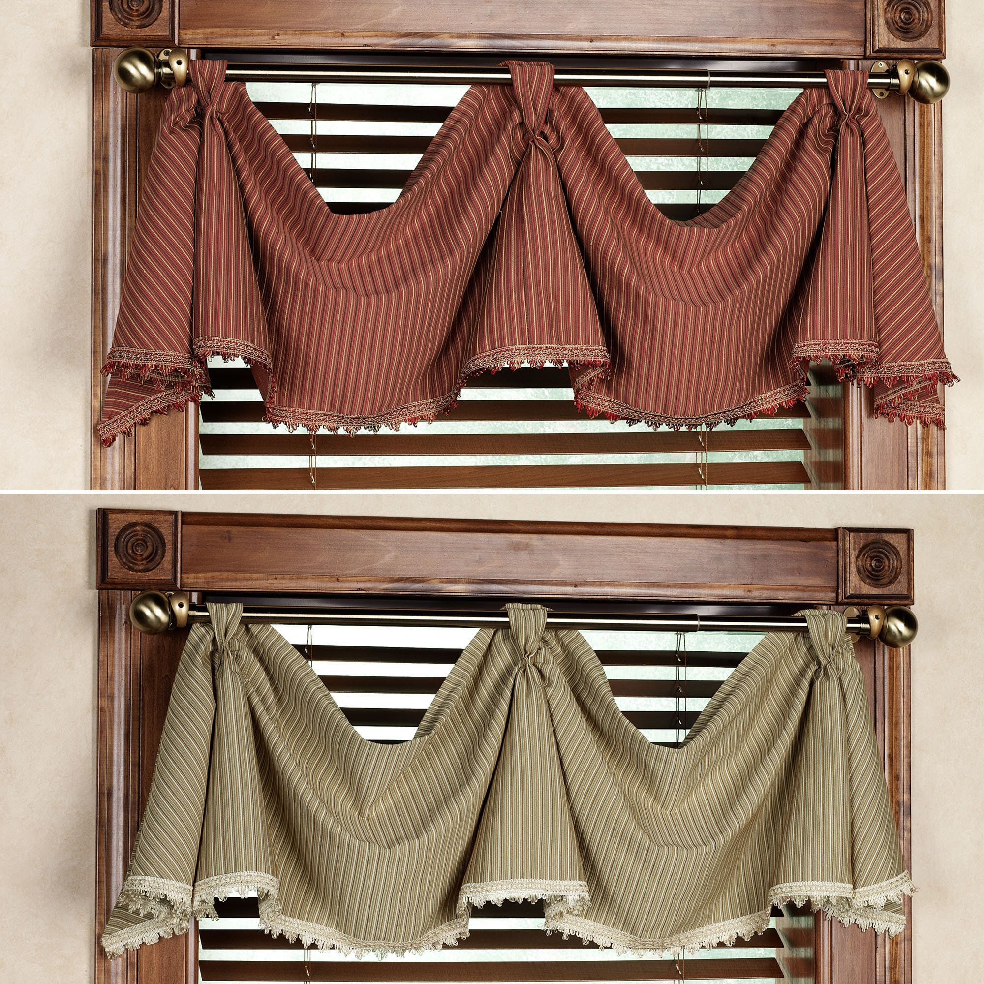 Valance, Curtains And Laundry