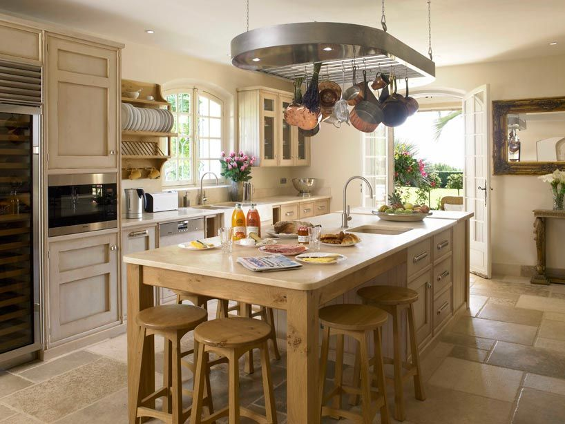 The provence kitchen by mark wilkinson furniture for Provence kitchen design