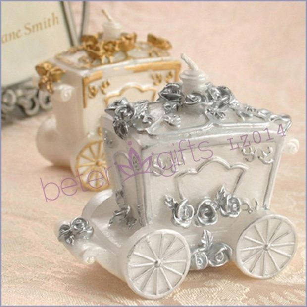 Carriage Candle Favor If Cinderella Was Looking For A Wedding She Might Have Use These