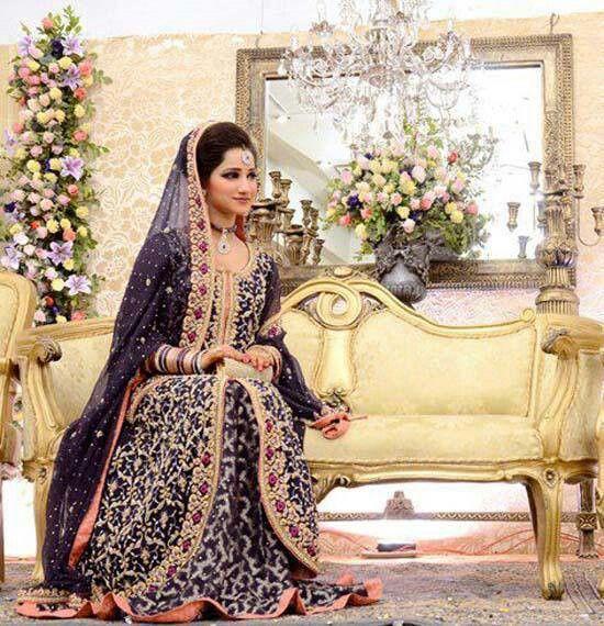 Pakistani bride, pakistani wedding dress, pakistani wedding ...