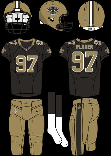 buy online a1d7d 11cf6 New Orleans Saints | Football | Football uniforms, Electric ...