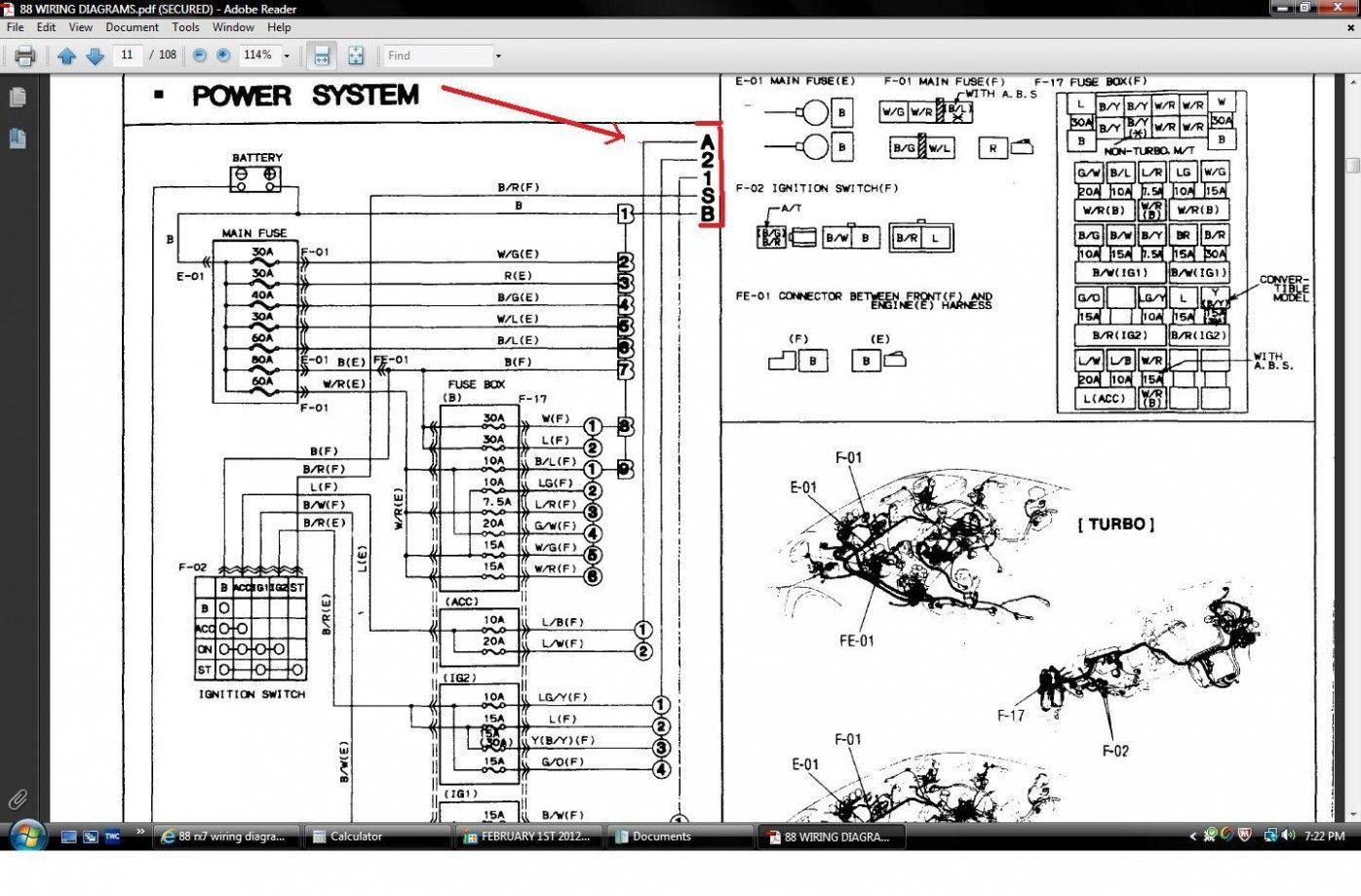 Engine Diagram Rx4 Fd Gt di 2020