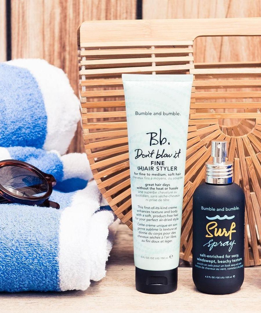 bumble and bumble surf spray how to use