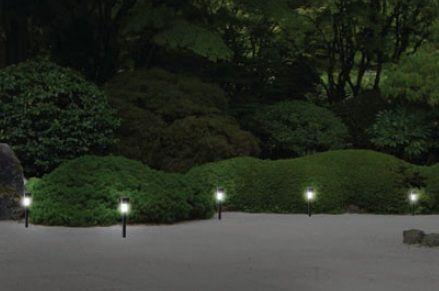 Luminária Balizador Solar.