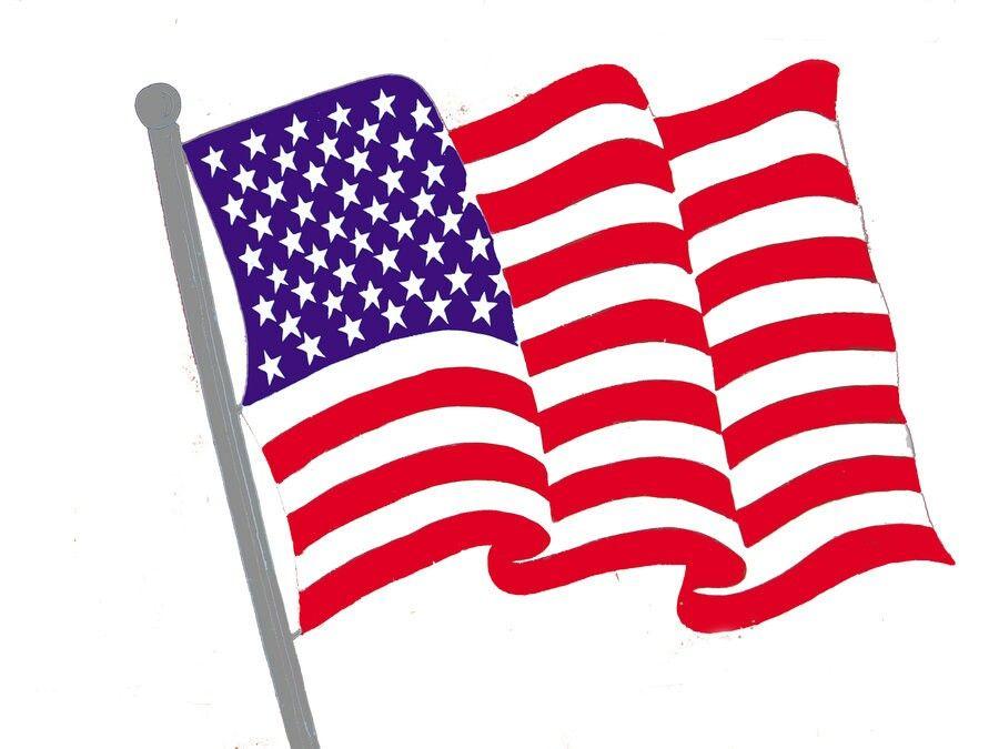 Bandera De Los Estados Unidos De America American Flag Clip Art Clip Art Free Clip Art