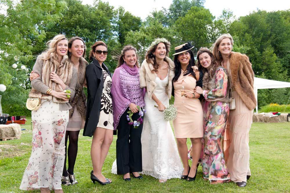 Vestidos para boda de dia en el campo