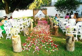 Resultado de imagen para decoracion de bodas con globos chinos al aire libre