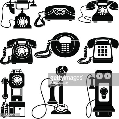 Old Fashioned Telephone Clipart Google Search Crafts Vintage