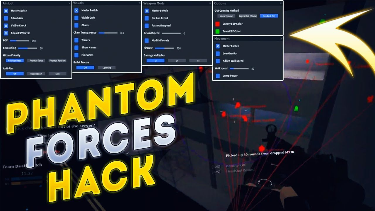 Phantom Forces Hack Download How To Download Hack Phantom
