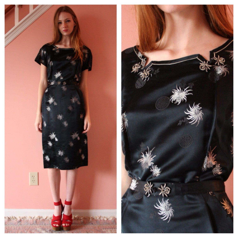 Vintage Party Kleid / asiatischen CocktailKleid von closetcaseVNTG ...