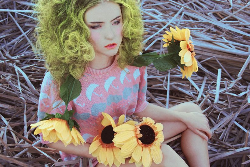 Photographed by Victoria Zeoli Model Justine Wack Hair