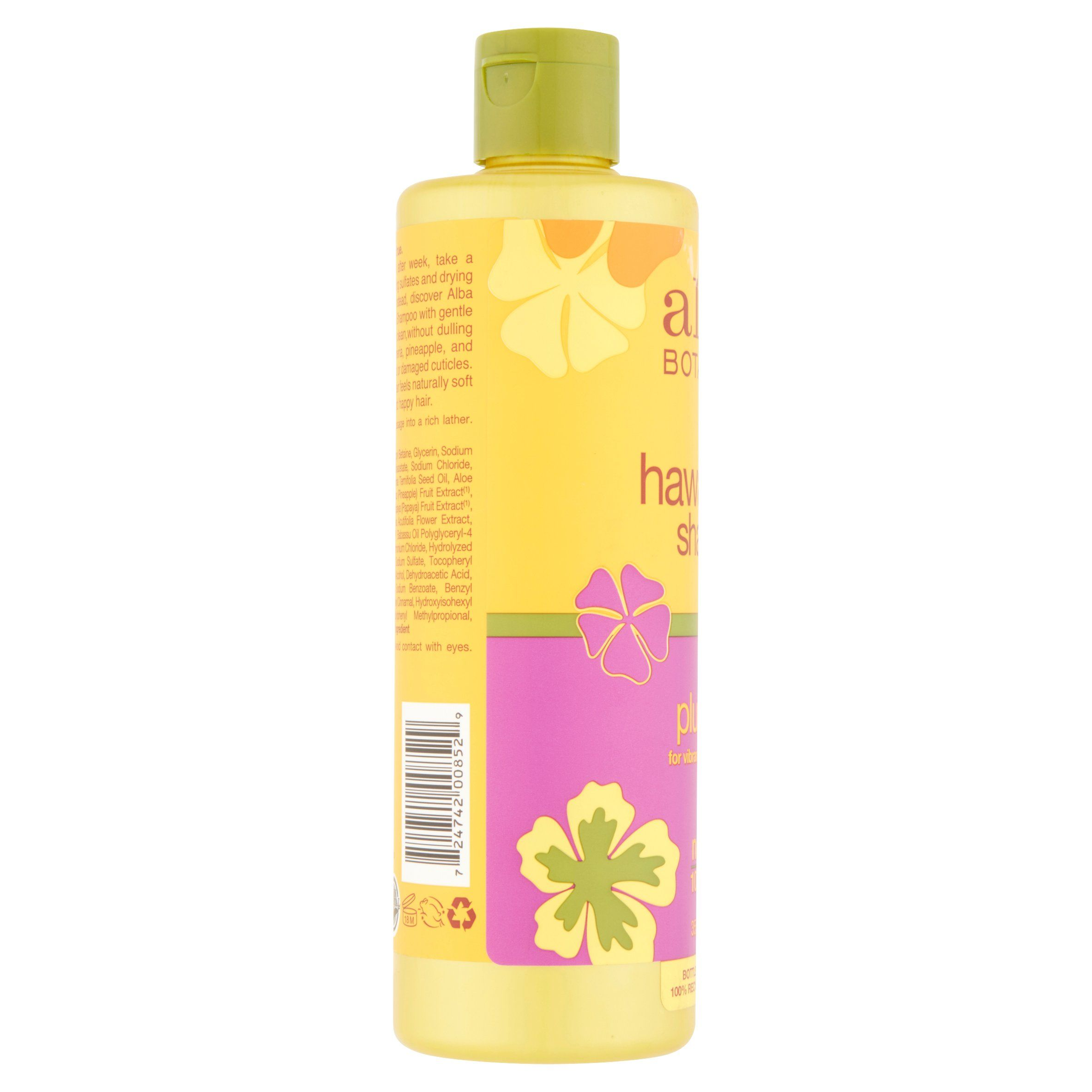 Alba Botanica Hawaiian Natural Shampoo Colorific Plumeria 12 Fl Oz Walmart Com In 2020 Shampoo Natural Shampoo Nourishing Shampoo