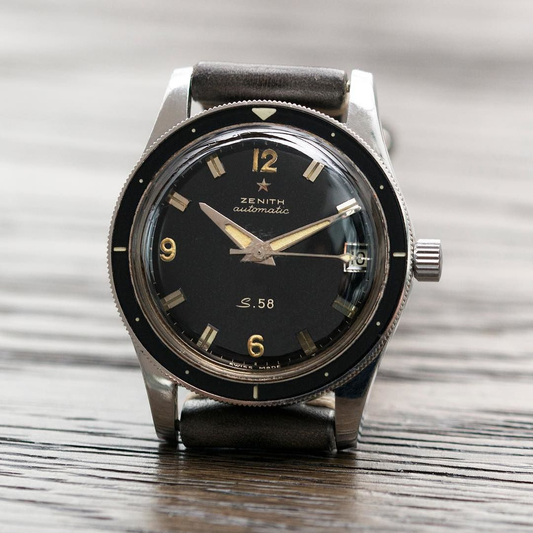 Introduced In 1958 As A Tool Watch For Military Use According To