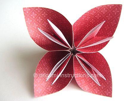 Easy Origami Kusudama Flower--modular Folding Technique (need Four