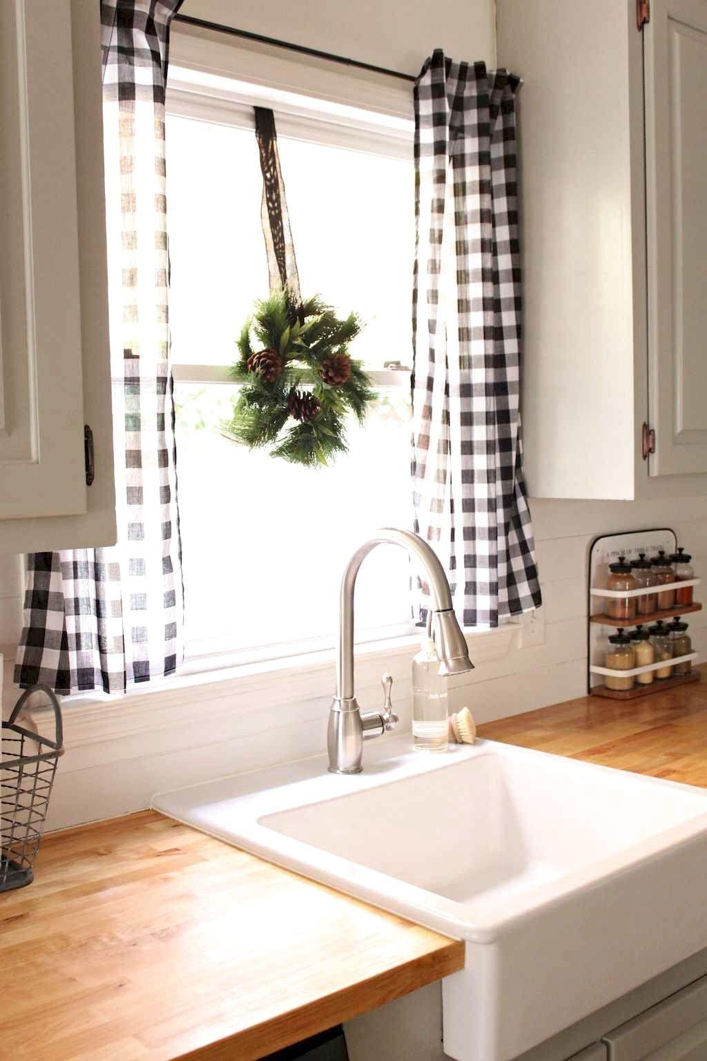 Favorite Farmhouse Kitchen Curtains Decor Ideas   FRUGAL LIVING ...