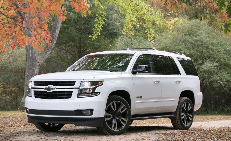 2018 Chevrolet Tahoe Rst 6 2l 4wd Instrumented Test Chevrolet