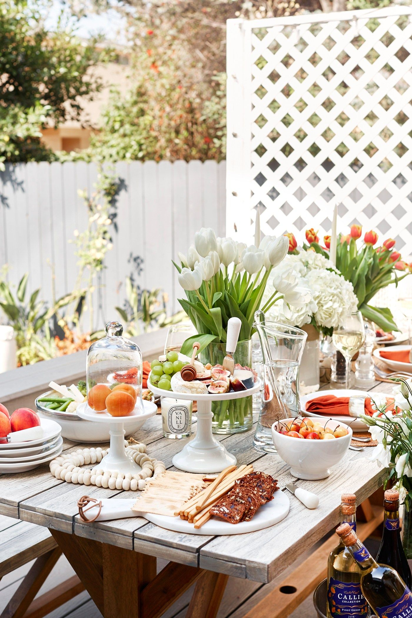 An Outdoor Dinner Party At Home With Love From Kat