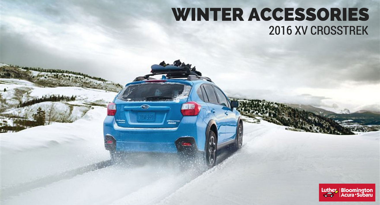 winter accessories 2016 subaru xv crosstrek luther bloomington