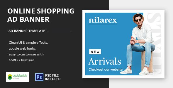 Shopping - HTML5 Animated Banner 19 . according to your own ...