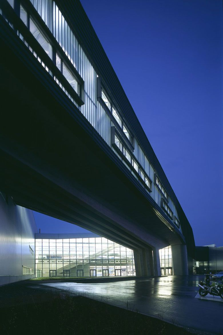 Bmw Central Building In Leipzig Germany By Zaha Hadid