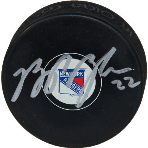 Brian Boyle Signed New York Rangers Puck - http://www.rekomande.com/brian-boyle-signed-new-york-rangers-puck/